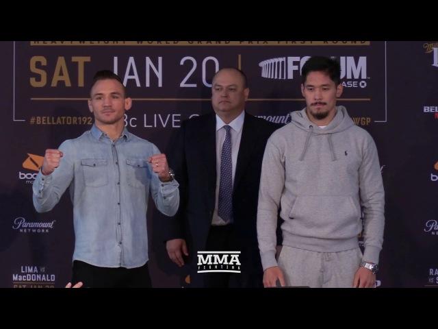 Bellator 192 Press Conference Staredowns - MMA Fighting