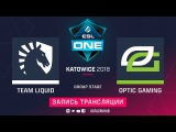 Liquid vs OpTic, ESL One Katowice, game 2 [GodHunt, Jam]