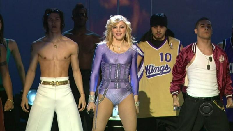 Madonna - Hung Up Live Grammy 2006