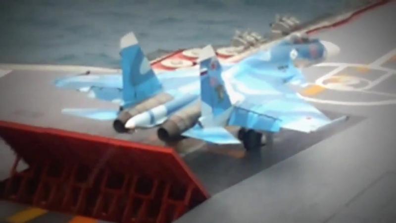 ТАВКР Адмирал Кузнецов - Полеты Палубной Авиации