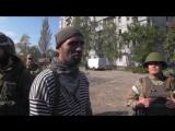 Донецк. 1 октября, 2014. Как погиб Ялта (монтаж видео с ополченцем погибшем в бою ДАП)