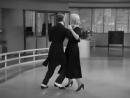 Ginger Rogers and Fred Astaire in their first dance number in Swing Time (1936)