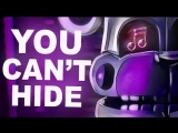 FNAF SISTER LOCATION SONG - You Cant Hide by CK9C [Official SFM]