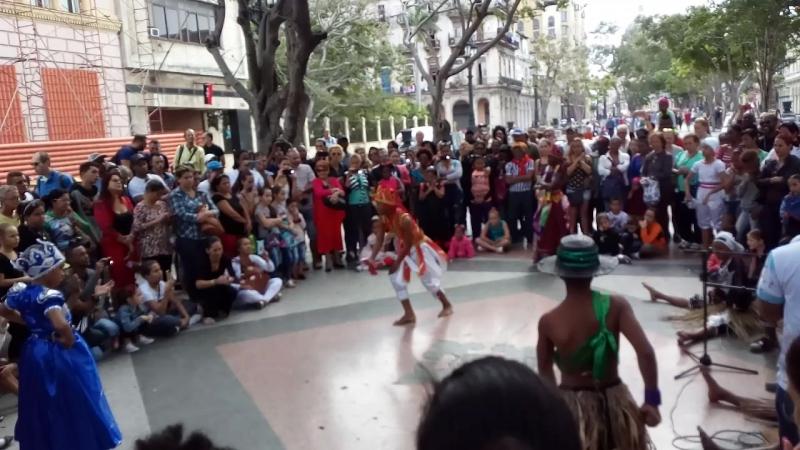 20 01 2018 Havana Prada Детский фольклорный ансамбль Chango