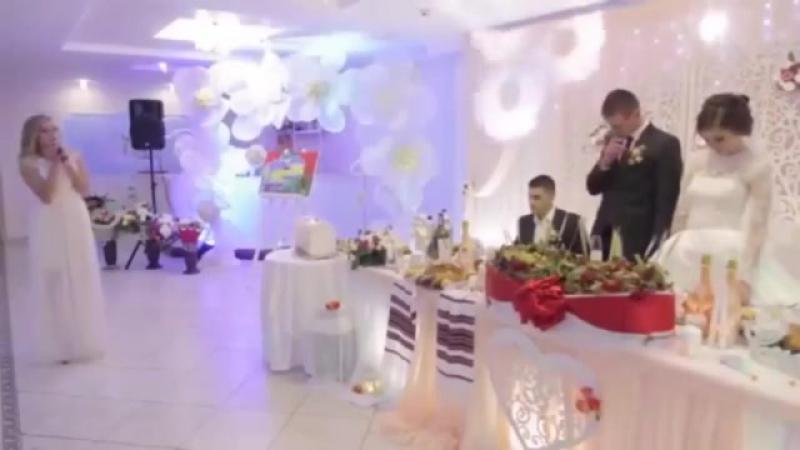 Супер поздравление от сестры на свадьбе брата