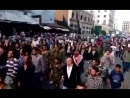 A rally of the families of the kidnapped in the capital Damascus, the families of the kidnapped: We trust the state 被擄掠的家庭在首都大馬士