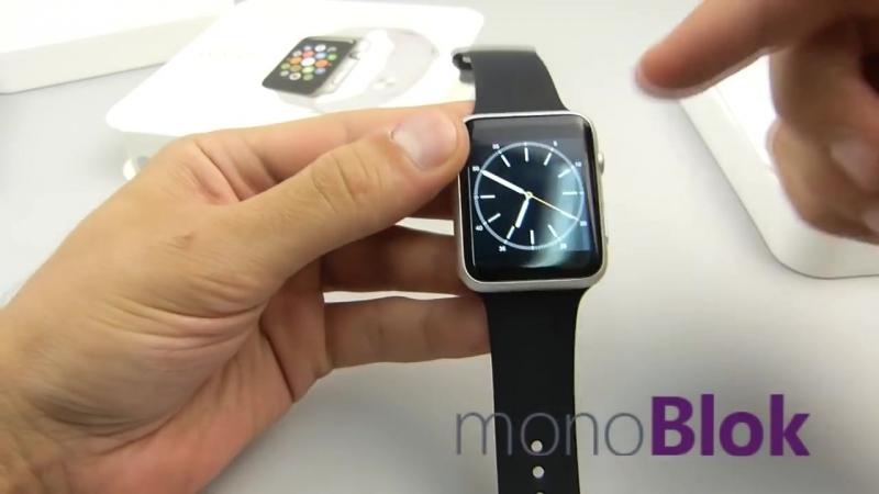 Умные часы, смарт часы, smart watch (apple watch) IWO 1 копия iOS and Android