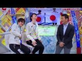 Yuzuru and Shoma japanese tv