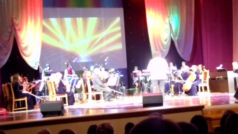 Концертный эстрадный оркестр г.Мозыря - Дни культуры Венесуэлы в РБ - Waka-waka (из видео-архива оркестра)