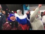 Невероятные эмоции Елены Вяльбе после бронзы Юлии Белоруковой