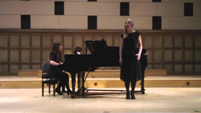 Laura Lister (soprano) Mozart- Una Donna Quindici Ani