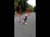Змейка на велосипеде от Маши