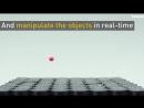 Захватный луч поднимает предметы в воздух с помощью звуковых волн