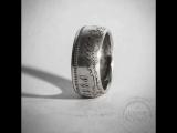 Кольцо из имперского рубля.