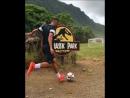 Футбол в Jurassic Park