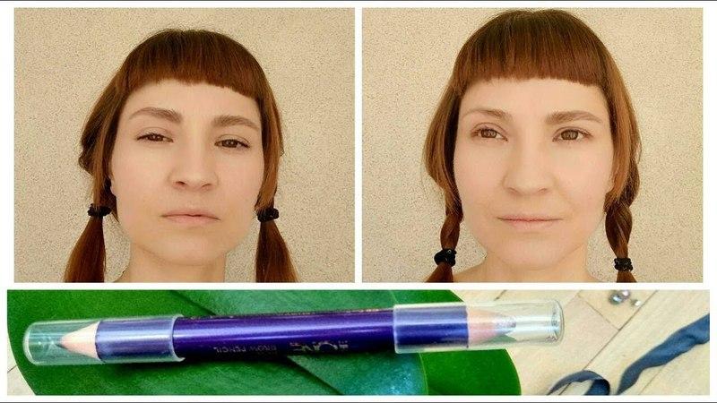 Двусторонний карандаш для бровей The ONE - ОБЗОР Лариса Дыгал