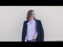 Бестселлер блуза в горох с длинными завязками