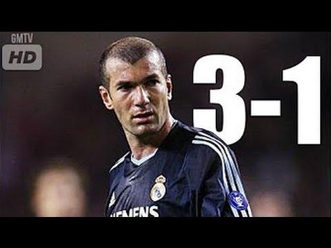 Monaco vs Real Madrid 3-1 • 1/4 UCL 2003/04 (match retour)
