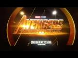 Тв-спот к новому к эксклюзивному ролику «Мстители: Война бесконечности»