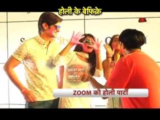 Holi Celebrations of TV stars at 'Zoom Holi Party 2018'