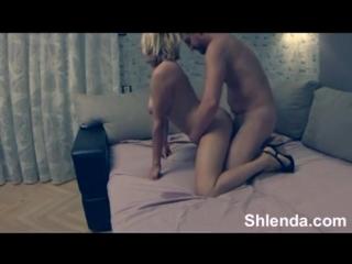 Снял проститутку блондинку и жестоко выебал
