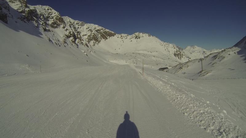 Гора Дьяволица, Швейцария, 21.02.2018, спуск 5.1км