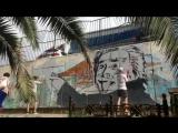 Новый стрит-арт от уличных художников в Сочи