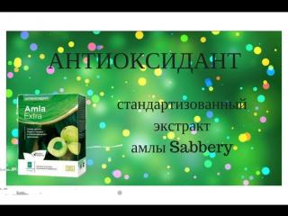 Антиоксидант! Стандартизированный экстракт Амлы Sabbery Дергачев Д.С.