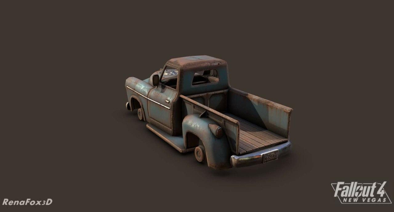Разработчики Fallout 4: New Vegas продолжают работу над игрой, и на этот раз они предоставили модель пикапа: