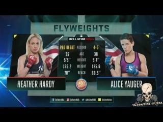 Heather Hardy vs. Alice Yauger