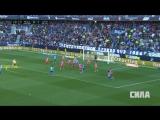 «Малага» - «Атлетико». Опасные моменты матча