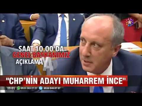 CHPnin Cumhurbaşkanı adayı Muharrem İnce Zamanı gelince her şey güzel olacak