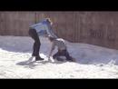 Жестокая женская драка Уличные драки RU