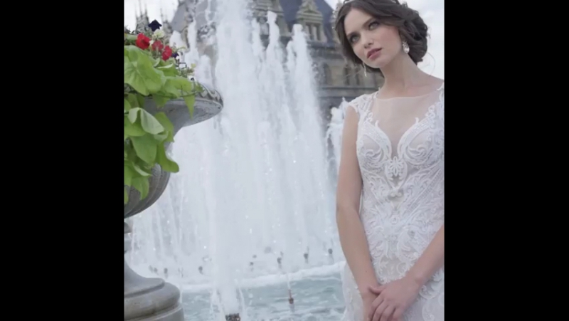 Wedding Dress Odilia Collection 2017 by BELFASO Fashion House 🌹