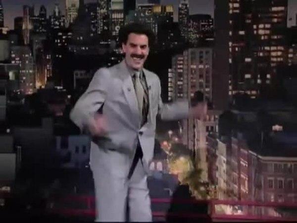 Борат отжигает Еврейский танец 7:40   Borat 7:40