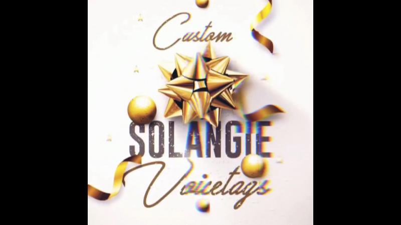 Solangie Voicetags- войстэги для битов 6 (аудиореклама, радио реклама)
