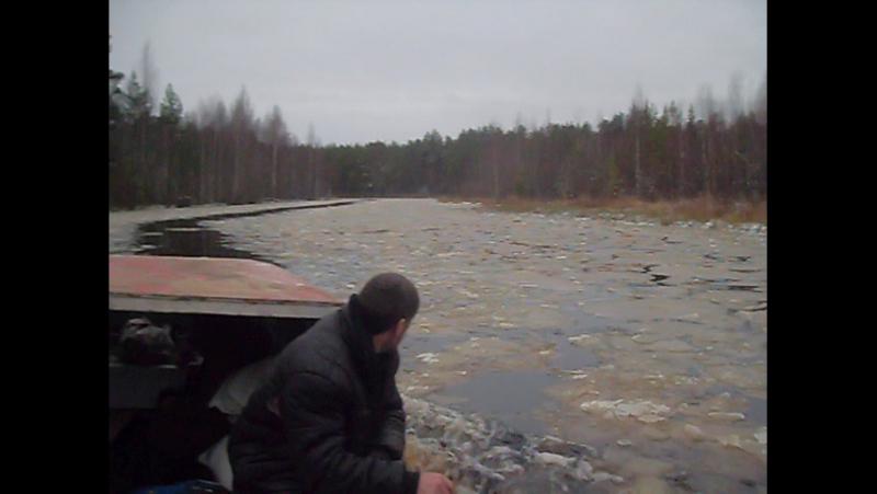 Водный путь в Муромский...Начало ноября 2017 года.