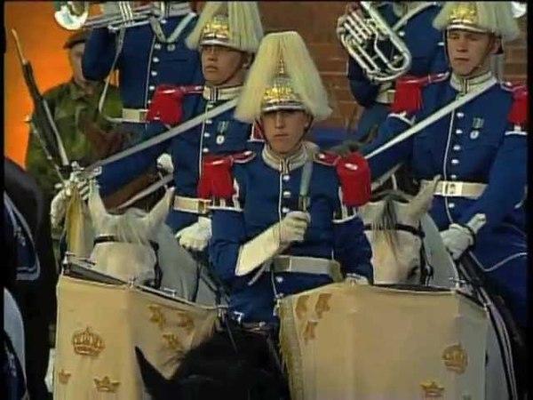 Band of the Swedish Royal Dragoon Guards at Ystad Tattoo