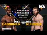 The Ultimate Fighter 25 Джаред Каннонир vs Ник Роерик обзор боя