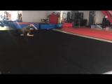 Movement Archery - Practicing flips like a real-life sensitive ninja!