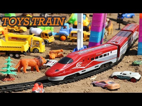 SUPER TRAIN TOYS | TRAIN FOR KIDS| BULLET TRAIN TOY SET UNBOXING REVIEW | VIDEO FOR CHILDREN