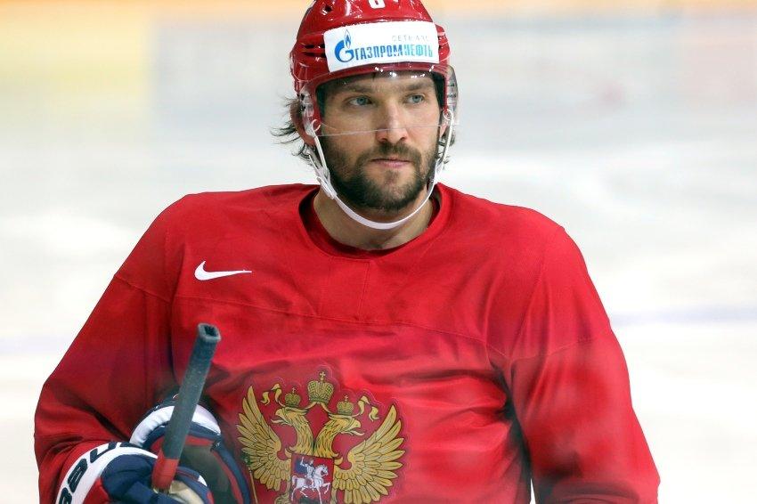 Овечкин представил официальный сайт «Команды Путина»