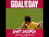 Goal of the Day: Santi Cazorla