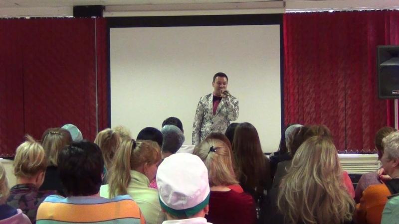 Владимир Волынкин Любим женщин(Военный Госпиталь 7 марта 2018)Пятигорск