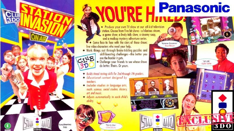Club 3DO - Station Invasion / Studio 3DO [ Panasonic 3DO Interactive / ЭМУЛ 4DO ].ENG/FPS.50/HD.720.p
