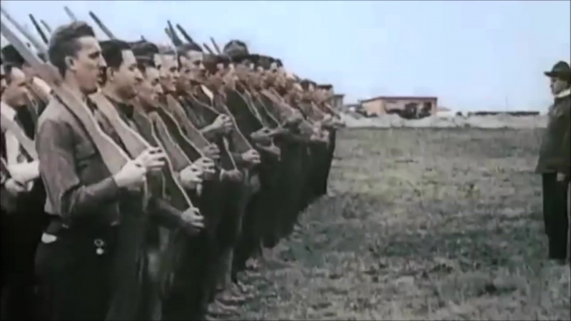 Over There ¦ US army WW1 footage in Color