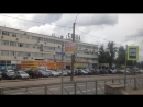 Трамвай Санкт-Петербурга ЛВС-86К б.7020 по маршруту №10 ч.2 19.07.2017