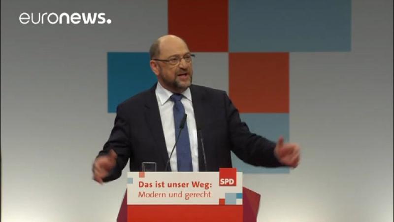 Schulz will Vereinigte Staaten von Europa