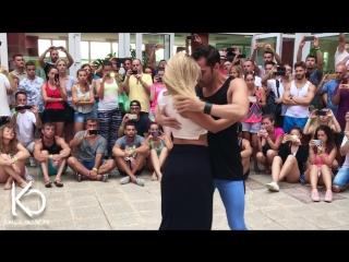 Bachata by kiko & christina - fue tan solo un beso