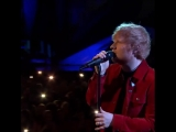 Ed Sheeran - Supermarket Flowers (BRIT Awards)